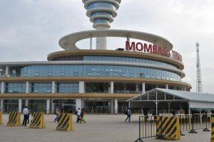Vista frontal del terminal del ferrocarril de 'ancho de vía estándar' de Mombasa, el 16 de enero de 2018. (Dominic Kirui/Especial para La Gran Época)